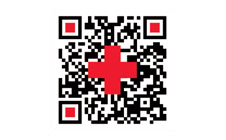 Custom QR Tag for Red Cross