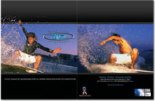 Wave Zone Skimboards Brochure and Website 2008