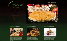 Delicious Gourmet Website