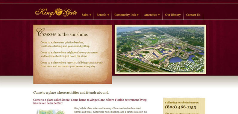 Kings Gate Home Page
