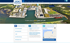 Port Manatee Website