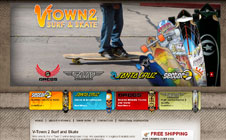 V Town2 Surf & Skate Website