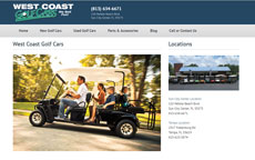 West Coast Golf Cars