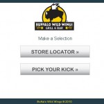 Buffalo Wild Wings Home Page