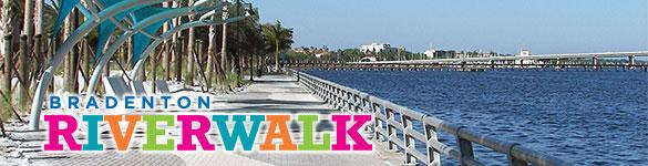 Bradenton Riverwalk in Downtown Bradenton Florida