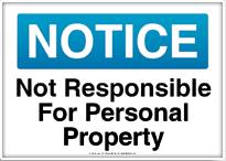 not responsible