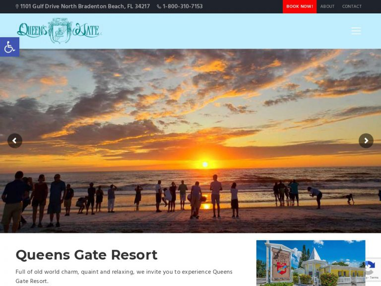Webtivity Launches New Website for Queens Gate Resort