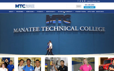 Webtivity Launches New Website for Manatee Technical College