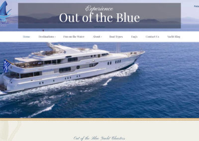 Out of the Blue Yacht Charters