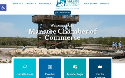 Webtivity Launches New Website for Manatee Chamber of Commerce!