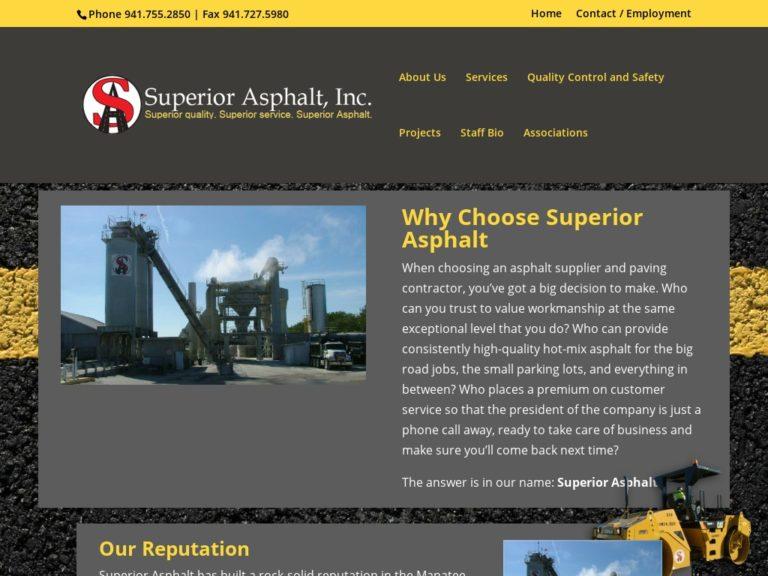 Webtivity Launches New Website for Superior Asphalt!