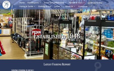Webtivity Launches New Website for Economy Tackle/Dolphin Paddlesports!