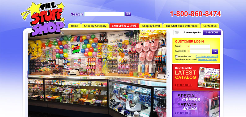 The Stuff Shop Old Website