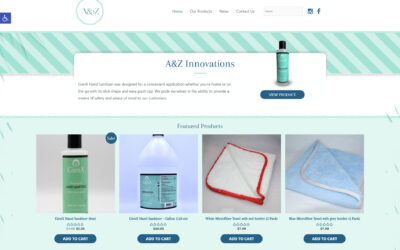 WEBTIVITY LAUNCHES NEW WEBSITE FOR A&Z INNOVATIONS!