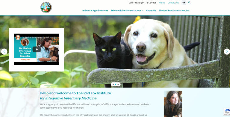 WEBTIVITY LAUNCHES NEW WEBSITE FOR RED FOX INSTITUTE