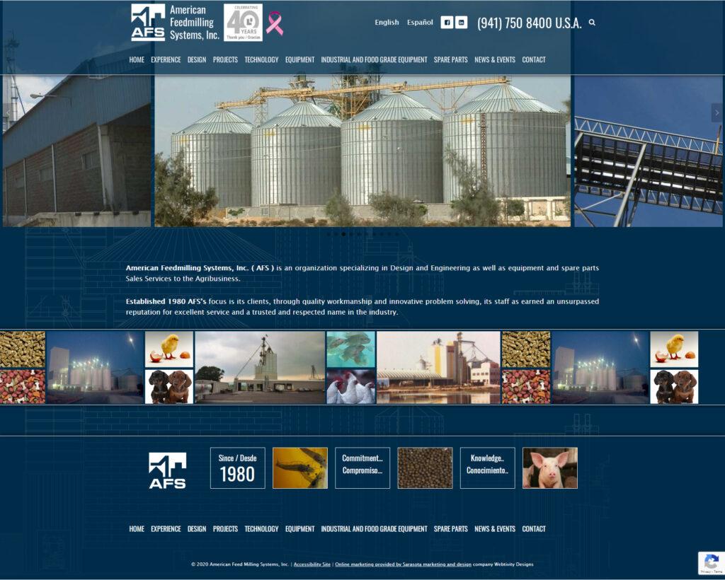 americanfeedmillingsystems.com Homepage