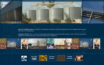 WEBTIVITY LAUNCHES NEW WEBSITE FOR AMERICAN FEEDMILLING SYSTEMS, INC.