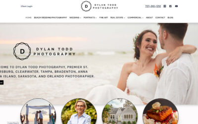 WEBTIVITY LAUNCHES NEW WEBSITE FOR DYLAN TODD PHOTOGRAPHY!